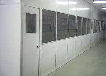 Divisória de pvc para quarto com porta