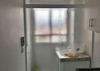 Divisória em vidro para cozinha