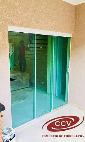 Divisórias de vidro temperado