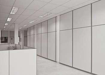 Divisórias de ambientes para escritório