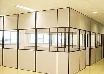 Divisória Eucatex para escritório