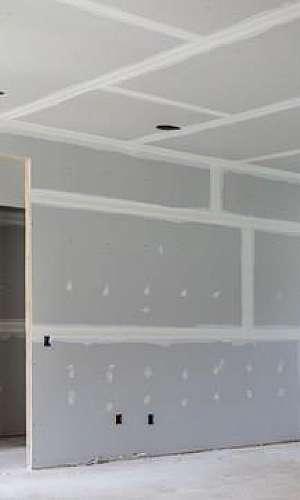 Drywall para paredes internas
