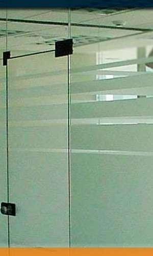 Película para divisórias de vidro