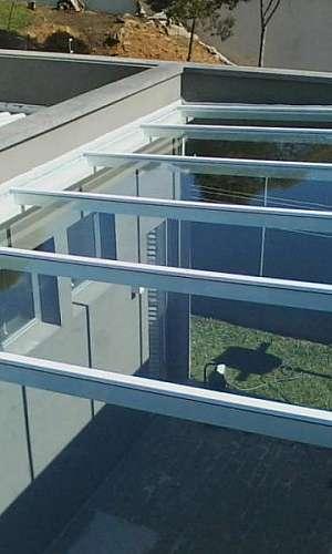 Cobertura de vidro temperado