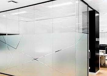 Divisória de ambiente de vidro Jardim São Luís