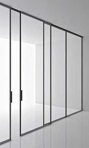 Divisória de vidro para escritório