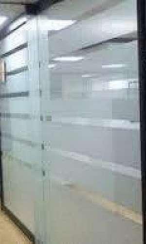 Divisória de vidro sp