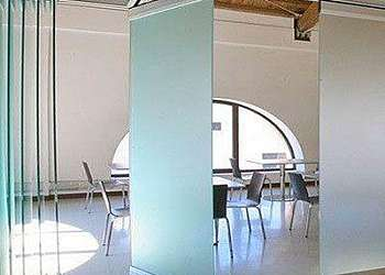 Divisória de vidro temperado escritório Cidade Ademar