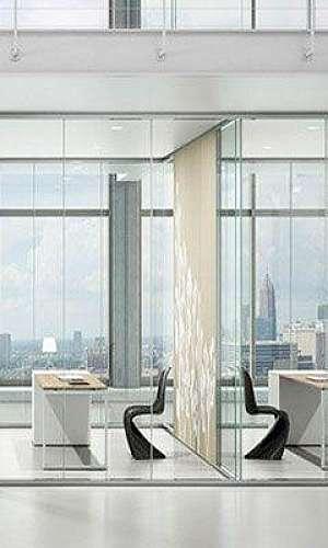 Divisórias acústicas para escritório
