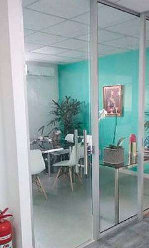 Divisórias de vidro para escritório