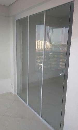 Divisórias de vidro temperado preço