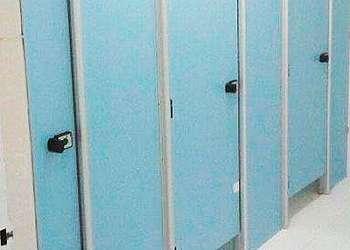 Divisórias para banheiros coletivos em São Paulo