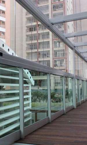 Empresa de cobertura de vidro