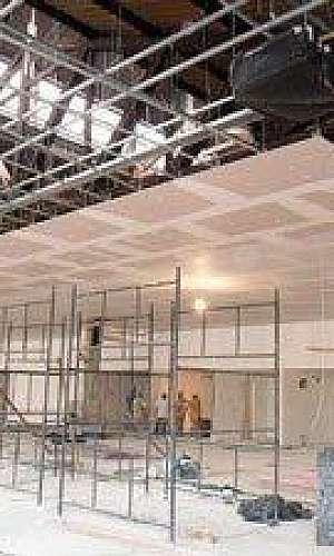 Forro removível drywall