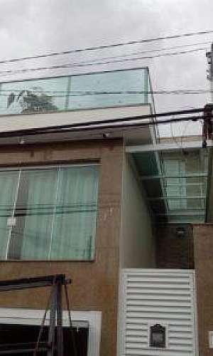 Guarda corpo de vidro para cobertura