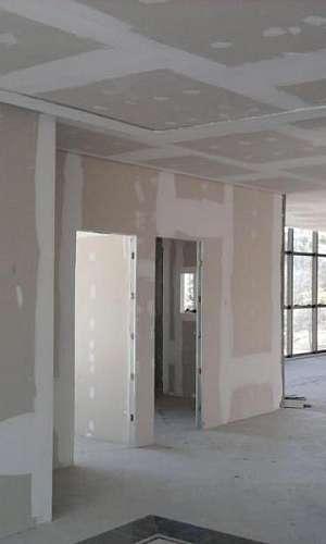 Instalação de drywall em Alphaville