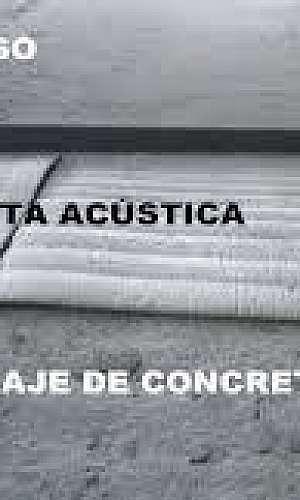 Manta acústica para piso