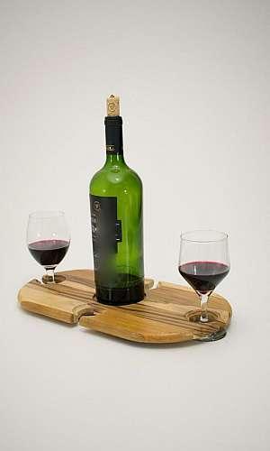 mesa de madeira para jardim