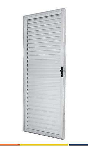 Porta de aluminio para quarto